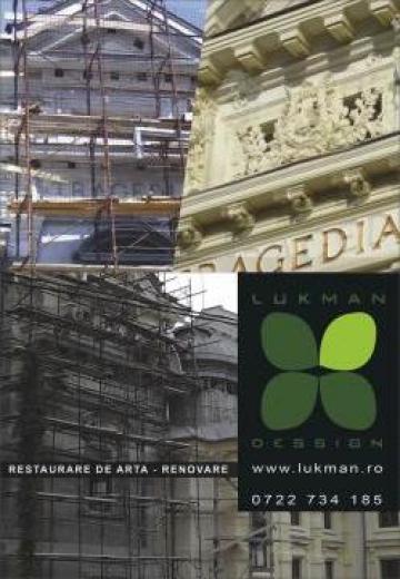 Restaurare piatra/ipsos/lemn de la Lukman Dessign