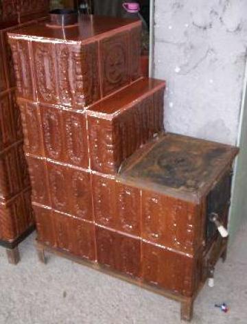 Soba de gatit din teracota corbi carpenul mic id 1093653 for Dedeman sobe teracota cu plita
