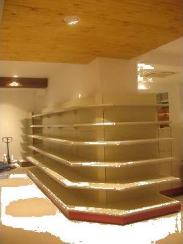 Rafturi - amenajare magazin alimentar/ nealimentar de la Marlex Impex Srl