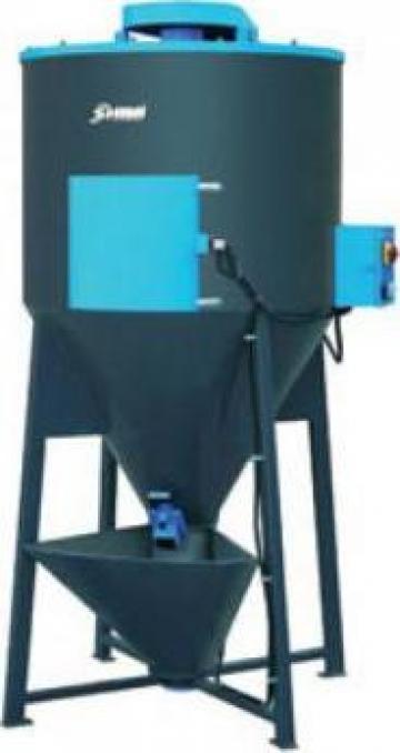 Echipamente de amestecare granule de mase plastice (Mixere)