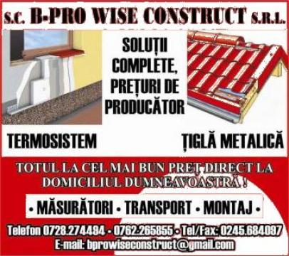 Termosistem de la B-Pro Wise Construct