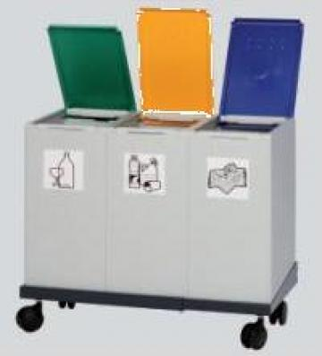 Cos de gunoi modular 3x40 litri