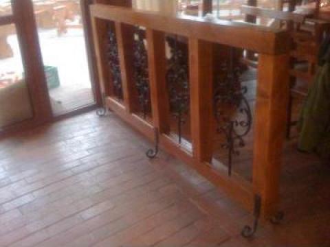Mobilier pentru restaurant (separeu) de la Expres Com Alim Srl.