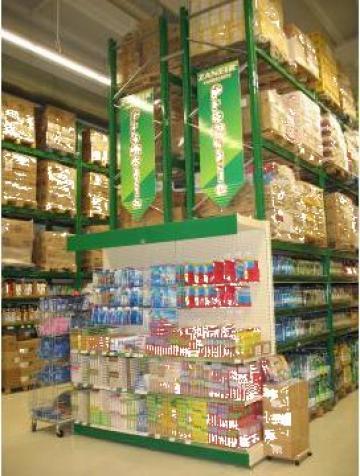 Rafturi magazin cash&carry Focsani