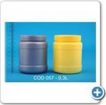 Borcan plastic la 0,3 l