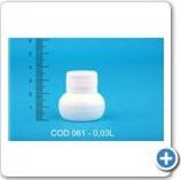 Sticluta plastic la 0,03 l cu dop FI 28 de la Vanmar Impex Srl