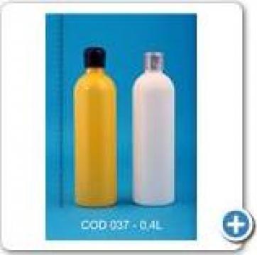 Recipient plastic la 0,4 l cu dop FI24 si FI28 de la Vanmar Impex Srl