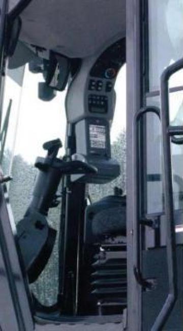 Sistem certificat cantarire la bord incarcator frontal de la Samas 2000 Srl