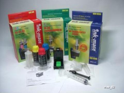 Refill kituri Inkmate-Korea pentru cartuse imprimante de la Kobalt Media Srl
