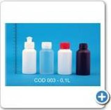 Flacon plastic 0.1 l de la Vanmar Impex Srl