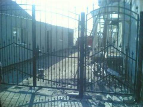 Garduri din fier forjat de la New Metal Design SRL