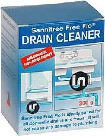 Solutie desfundare chiuveta Sannitree FreeFlo granules