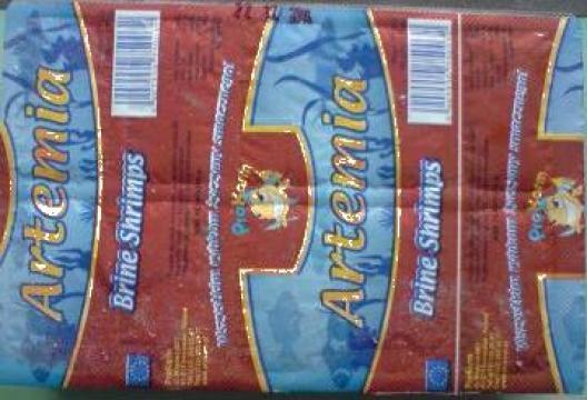 Hrana congelata pentru pesti exotici Artemia de la Forpets