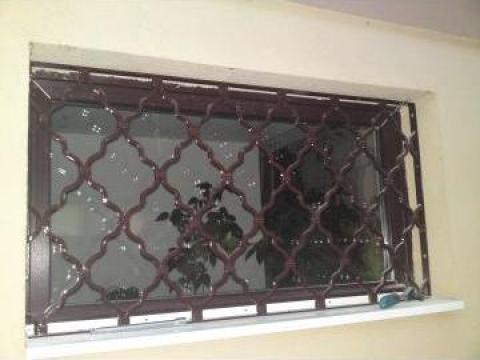 Grilaj fereastra fier forjat de la Forjart Srl