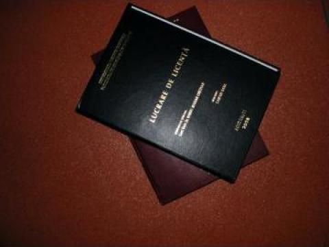 Coperti lucrare licenta, disertatie, masterat, doctorat de la Pascut Calugareanu Anca Pfa