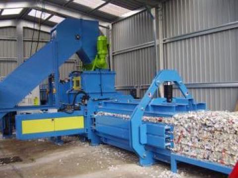 Prese de balotat automate, carton, folie ATS 110-75 de la Sc Schuster Recycling Technology Srl