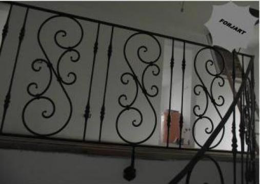 Balustrada din fier forjat elemente S,C