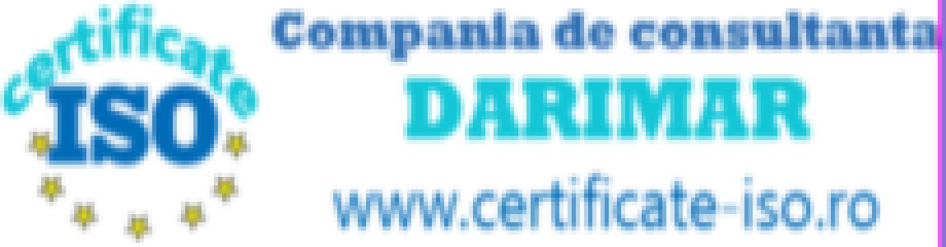 Certificare ISO 9001 de la Debreteni Florin Silviu Inteprindere Individuala