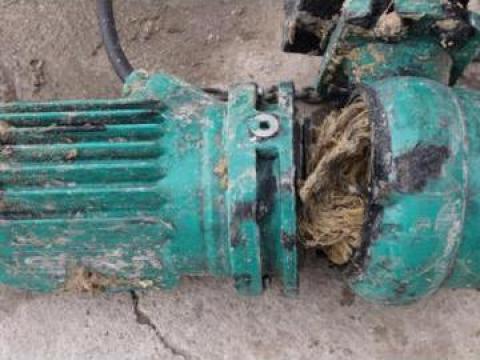 Reparatii pompe submersibile canalizare de la Sc Asbloc Srl