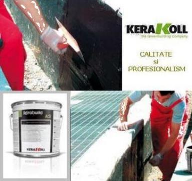 Hidroizolatie acoperis si fundatii Kerakoll Idropren de la DWR Ari Solutions Srl