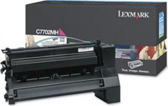 Cartus Imprimanta Laser Original LEXMARK C7702MH de la Green Toner