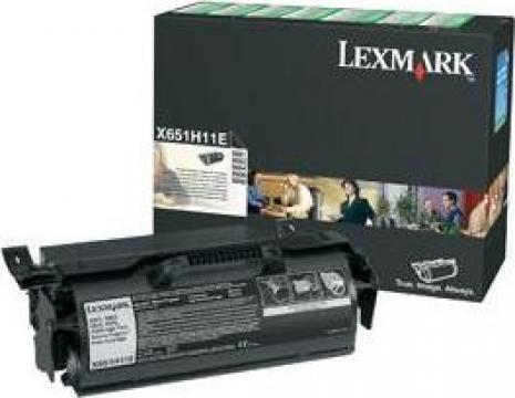 Cartus Imprimanta Laser Original LEXMARK X651H11E