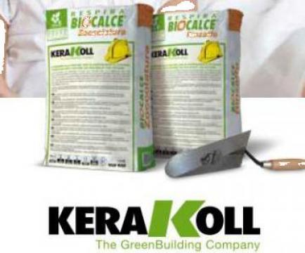 Tencuiala asanare Kerakoll - Biocalce Zoccolatura