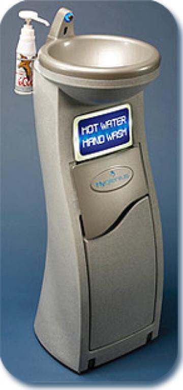 Chiuveta transportabila Hygienus cu senzor instant apa calda