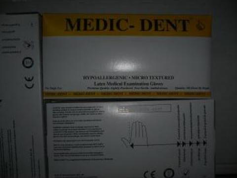 Manusi latex pudrate XS, S, M, L - 100 bucati de la Viomed Consum Srl