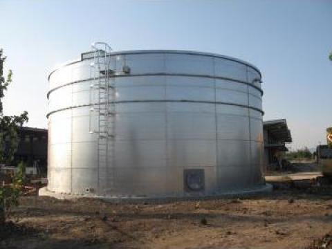 Rezervor metalic de stocare apa de la Highberg Solution