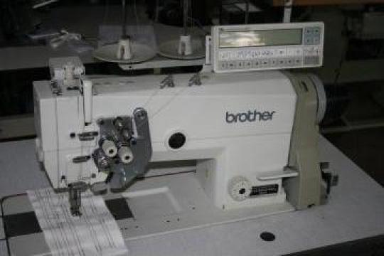 Masina de cusut cu 2 ace Brother LT2-B845-403 Mark II