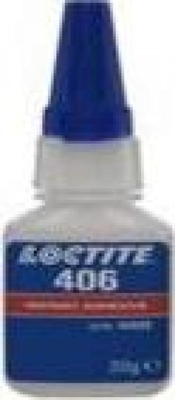 Adeziv plastic si cauciuc Loctite 406 / 20GR de la Baza Tehnica Alfa Srl