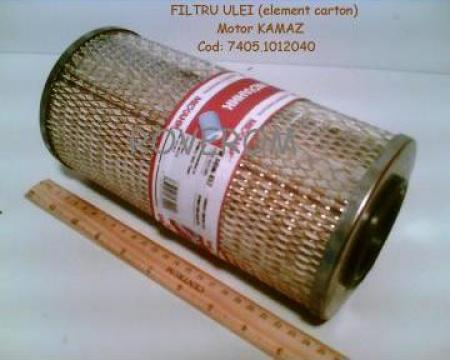 Filtru (carton) ulei motor Kamaz