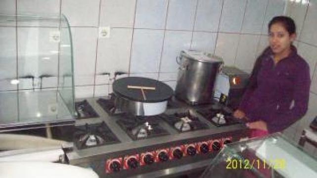 Aragaze profesionale cu cuptor noi si second hand de la Mesut Pasa Com Srl