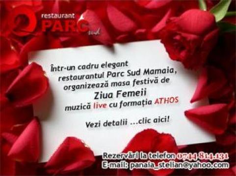 Organizare mese fetive 8, 9, 10 Martie Restaurant Parc