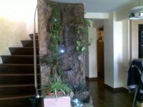 Cascade exterioare, interioare, fantani arteziene de la Stoneart Srl
