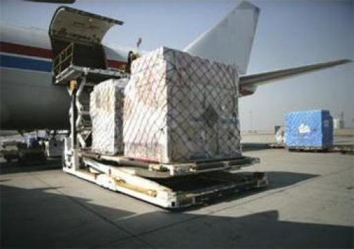 Transport aerian in regim door-to-door