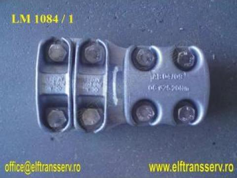 Clema racord drept tub aluminiu - LM 1084 RO