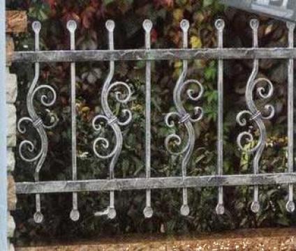 Gard fier forjat