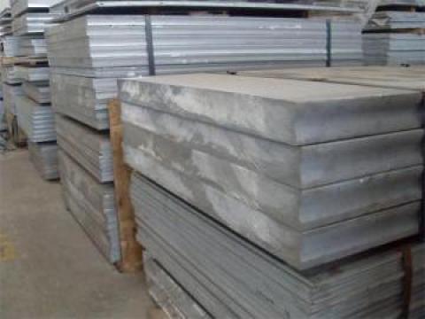 Placa aluminiu - duraluminiu 10x1000x2000 mm, 5083, AlMg4.5