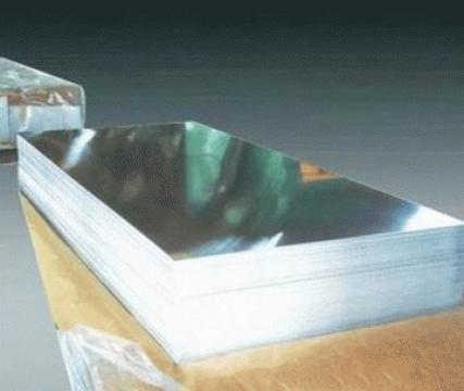 Tabla aluminiu 2x1500x3000 mm, Al 99.5%, ENAW 1050 H24 de la MRG Stainless Group Srl