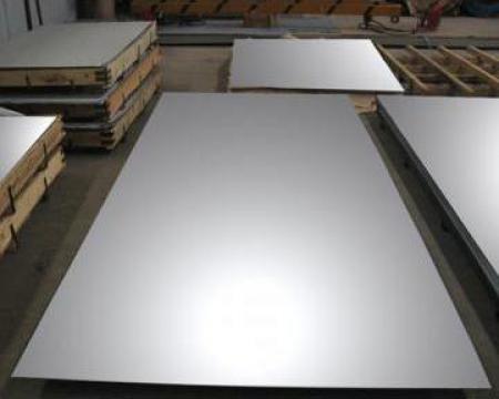 Tabla aluminiu 6x1000x2000 mm, Al 99.5%, EN-AW 1050 H24
