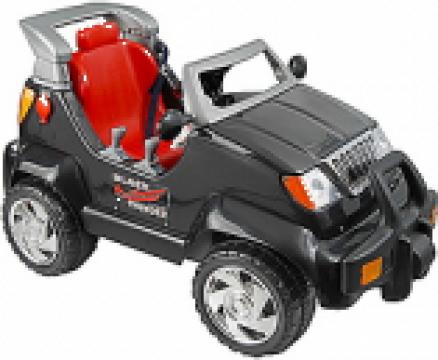 Jucarie Jeep electric Black Thunder de la Sisteme De Alarma @ Camere Video