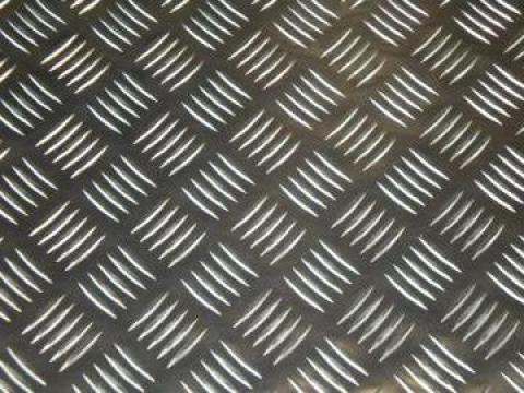Tabla aluminiu striata Quintett 3x1250x2500mm de la MRG Stainless Group Srl