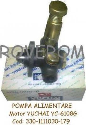 Pompa alimentare motor Yuchai yc-6108g
