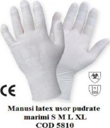 Manusi protectie latex
