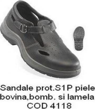 Sandale protectie cu bombeu