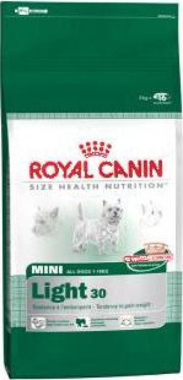 Hrana caini Royal Canin Mini Light 8Kg de la Sc Sirupet Shop Srl