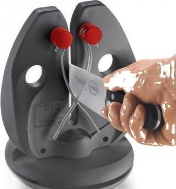 Dispozitiv manual ascutit cutite Dick Rapid Steel Action de la Tehno Food Com Serv Srl