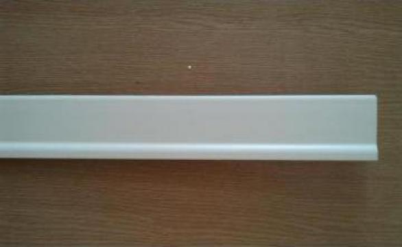 Plinta alba din PVC expandat - Profilitec